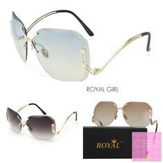 14abc27c5867 ROYAL GIRL New Arrive Fashion Square Rimless Sunglasses Women Vintage Brand  Designer Coating Sun Glasses UV400 ss125