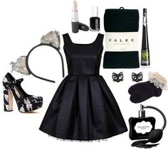 """""""Black Cat, Costume / Other"""" by nthemermaid ❤ liked on Polyvore"""