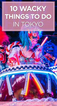 10 unique and wacky things to do in Tokyo, Japan. Travel in Asia.