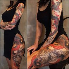 Badass Tattoos, Hot Tattoos, Body Art Tattoos, Girl Tattoos, Sleeve Tattoos, Tatoos, Full Leg Tattoos, Arm Tattoos For Guys, Small Tattoos
