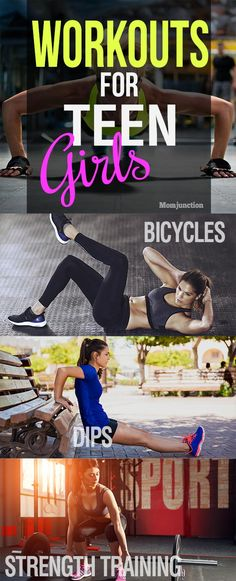 21 Impressive Workouts For Teenage Girls