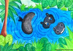 """Is it possible to """"play"""" with animal motifs from Hans Scherfig's paintings?"""