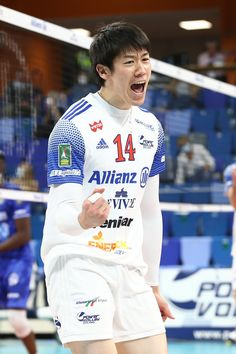 Japan Volleyball Team, Volleyball Players, Ishikawa, Cute Boys, Adidas, Running, Sports, Mens Tops, Boyfriends