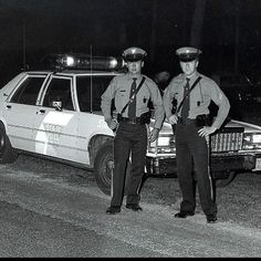 New Jersey State Police (NJSP) in what looks like the 1960s