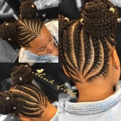 Braids for Kids, 50 Splendid Braid Styles for Girls, The Right Hair styles you can count on. Little Girl Braids, Black Girl Braids, Braids For Kids, Braids For Black Hair, Girls Braids, Lil Girl Hairstyles, Black Kids Hairstyles, Natural Hairstyles For Kids, Kids Braided Hairstyles