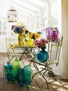 Sigue estos #tips #DIY para decorar tu hogar con #flores. ¿Estás preparada?