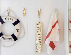 Coastal Decor, Beach, Nautical Decor, DIY Decorating, Crafts, Shopping   Completely Coastal Blog: Nautical Boat Cleats for Hardware and Hooks