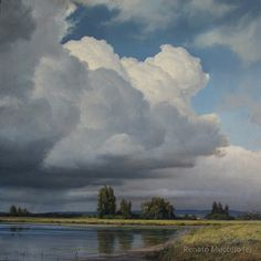 """""""Approaching Storm"""" - study"""