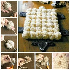 M s de 1000 ideas sobre alfombra de pom pom en pinterest for Alfombras de borrego