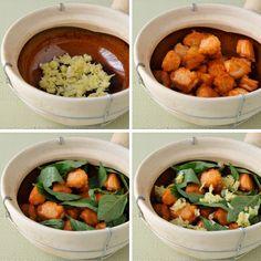Thai-Inspired Salmon Clay Pot   Ob Pla Salmon   อบปลาแซลมอน