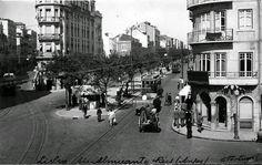 Avenida Almirante Reis, cruzamento com a Rua dos Anjos. 1939