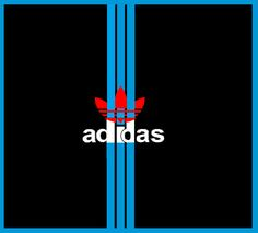 Adidas, new logo, with 3, three, stripes, made by, me.