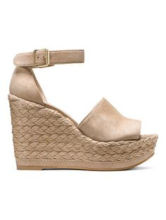 d779fe874 Pelle Moda Kauai Espadrille Suede Ankle Strap Wedge Sandals | SHOES in 2019  | Shoes, Ankle strap wedges, Ankle strap shoes