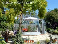 Solardome geodesic greenhouse
