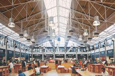 Sinds vorige week weten we wat er straks allemaal in de Amsterdamse De Foodhallen te vinden zal zijn. Benieuwd wat je je daarbij moet voorstellen? Wij gingen naar Portugal en bezochten de Mercado da Ribeira, de Foodhallen van Lissabon.
