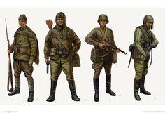 Call of Duty: World at War Concepts