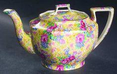Royal Winton Welbeck (Older) Ajax Teapot & Lid