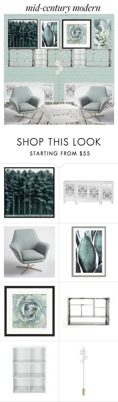 """""""Untitled #134"""" by patysweetgirl ❤ liked on Polyvore featuring interior, interiors, interior design, home, home decor, interior decorating, West Elm, Worlds Away, Cost Plus World Market and Art Addiction"""