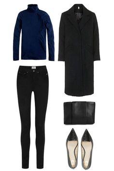 black on blue on black