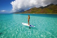 I want to try paddle boarding!  Jose did it when we were in Florida.  Looks fun!!!