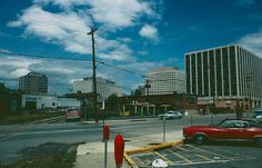 Here is where the B&O railroad crossed Bethesda Avenue.  Now the hub of the new Bethesda -- Barnes and Noble, Mon Ami Gabi, movie theater, etc.