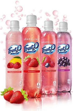 Sparkling Fruit2O yummy! Love grape and strawberry the best.