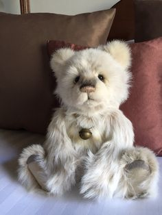 Mabel... Charlie Bear from the Silver Shop in Bath