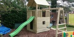 How to build a 'proper' wooden climbing frame