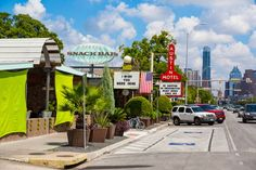 Austin, Texas  Swap North Brooklyn's scenery for this laid-back art-and-music hub. When you get back, let us know whose barbecue you like best.