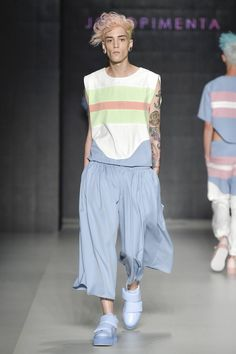 Male Fashion Trends: João Pimenta Fall-Winter 2017 - Sao Paulo Fashion  Week -width of the pants is great