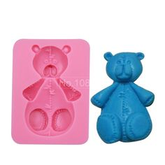 Silicone Bear Mold,Resin Clay Chocolate Candy Cake Mould, Fondant Baking Cake Supplies Silicone Rubber Molds in Cake Mold SM-052