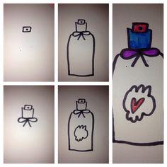 Parfum flesje is easy:-)