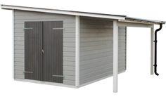 förråd torsbo med takutbyggnad