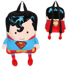 Google Image Result for http://2.bp.blogspot.com/-s7GFwcaF53U/T9YLXdNO9-I/AAAAAAAAAa4/5nJybFoG7h4/s1600/DC-Comics-Superman-Plush-Backpack.jpg