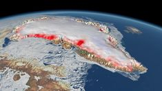 Climate change: Greenland ice melt 'is accelerating'  Greenland is losing ice 7 times faster than it was in the 1990s.  The assessment comes from an international team of polar scientists who've reviewed all the satellite observations over a 26-year period.  Greenland's contribution to sea-level rise is currently tracking what had been regarded as a pessimistic projection of the future. It means an additional 7cm of ocean rise could now be expected by the end of the century from Greenland…