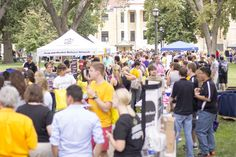 The 2015 Annual Back to School Picnic on the Fort Hays State Quad