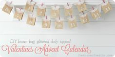 Valentines advent calendar - The House of Smiths