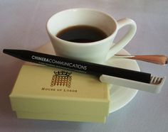 The famous black Chimera Communications pen goes to the House of Lords