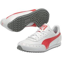 Puma Golf Cat 2 Womens Golf Shoes White Rouge Red Rio Red, Cutest girl golf shoes!!! I would wear these off the course.