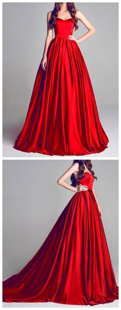 prom dresses long,prom dresses simple,prom dresses a line,prom dresses modest,prom dresses 2018,prom dresses red,prom dresses sweetheart #satin #red #cheap #2018
