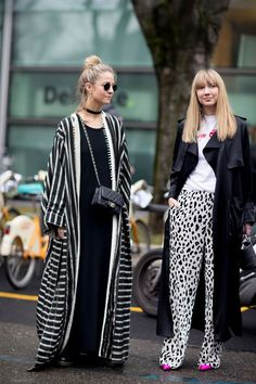 The Best Street Style Looks From Milan Fashion Week Fall 2017 Best Street Style, Street Style 2017, Cool Street Fashion, Street Style Looks, Looks Style, Street Chic, Look Fashion, Fashion Photo, Street Styles