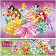 Disney Princesses - The Palace Pets ♡