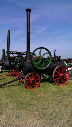 .steam tractor