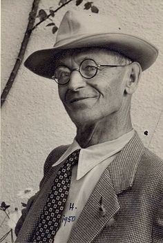 Hermann Hesse German-born poet, novelist, and painter. In he received the Nobel Prize in Literature. Hermann Hesse, Nobel Prize In Literature, Great Thinkers, Max Ernst, Museum, Writers And Poets, People Of Interest, Book Writer, Jolie Photo