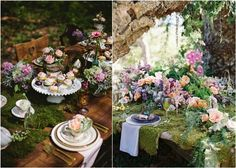 [tps_header]Woodland-themed weddings are gaining more and more popularity, as this is an amazing theme for an outdoor soiree, especially in summer. Let's see how to decorate tables for a woodland wedding – it's rather...