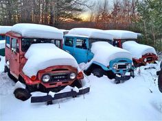 build blog - land cruiser snow