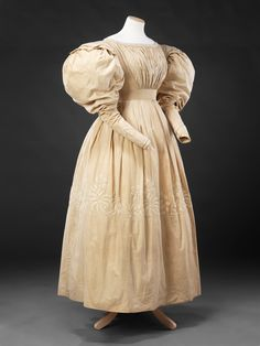 Dress, circa 1830