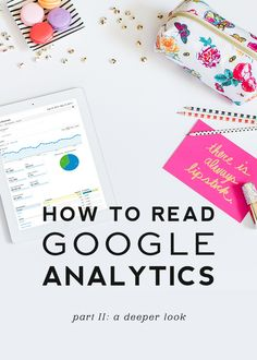 I actually found this to be helpful.  Part I is super basic.   How to Read Google Analytics | Part II: A Deeper Look - Designer Blogs