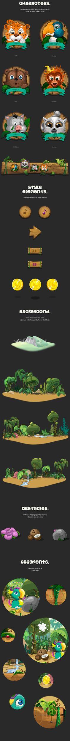 Jungle Bells Game on Behance