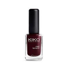 Nail Lacquer Kiko 226 Rouge Noir #fave